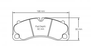 Porsche Pagid Bremsbelag