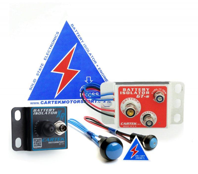 CARTEK Elektronischer Batteriehauptschalter GT (Kit)